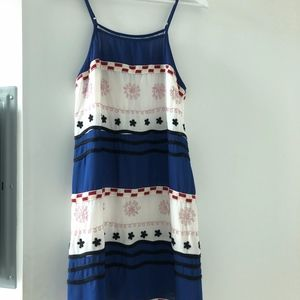 July 4th! Red White Blue Small Dress